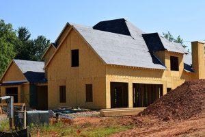 dom w budowie